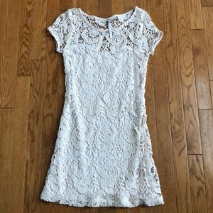 Lauren Conrad size 0 lace with slip under. EUC